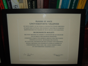 yale 2010 masters of philosophy diploma